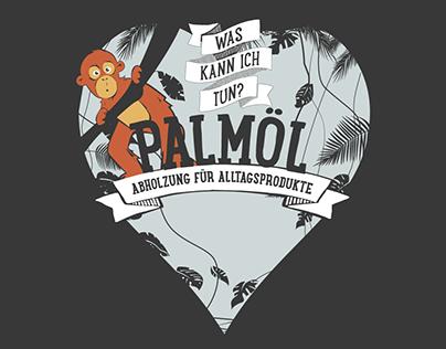 RETTET DEN REGENWALD: Palmoil Infographic