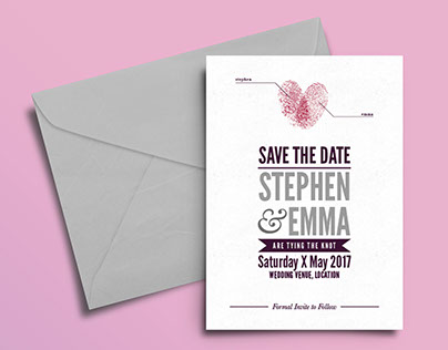 Save The Date: Various Designs