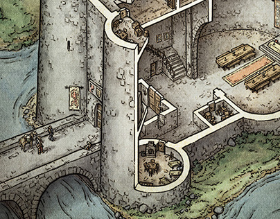 Castle Cutaway