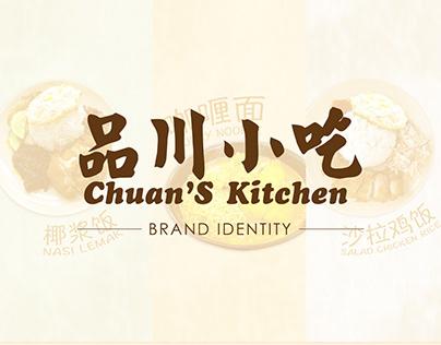 Brand Identity - Chuan's Kitchen
