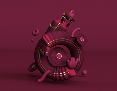 36 DOT · 3D Character Illustrations
