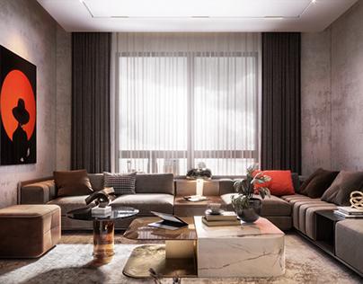Living room | stand alone villa