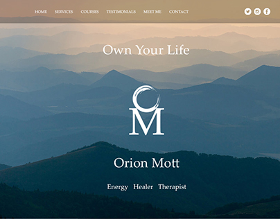 Orion Mott: Energy, Healer, Therapist