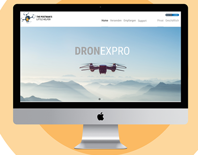 DRONEXPRO Delivery app/web