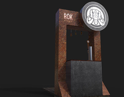"Stand ""RÖK Brewing Co."""
