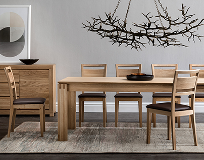 Hardwood table photography