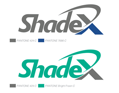ShadeX Logo Design