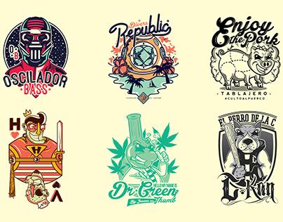 Cartoon Character Logos (vol. 3)