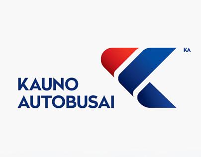 KAUNO AUTOBUSAI logo and brandbook.