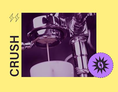 CRUSH – coffee house