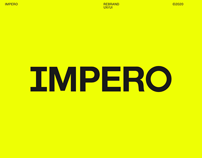 IMPERO — REBRAND AND WEBSITE