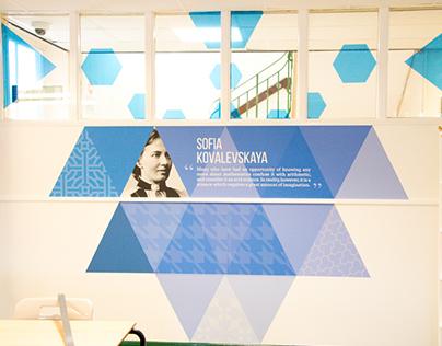 Maths Tessellation Classroom Design