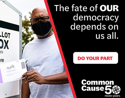 Common Cause Election Protection Online Campaign