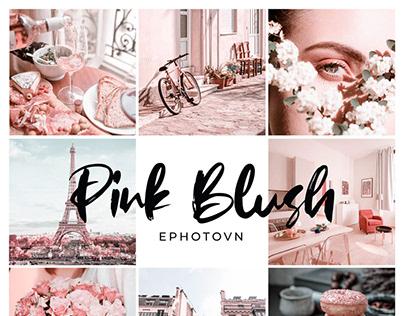 PINK BLUSH – 5 Adobe Lightroom Presets FREE