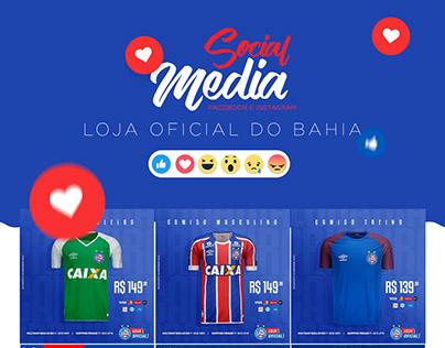 Loja Oficial do Bahia │ Social Media