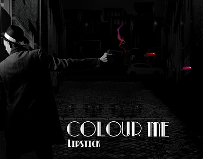 Colour me Lipstick: Splash Page Advertisement