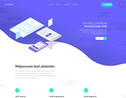 Web Ajans - Arayüz Tasarımı
