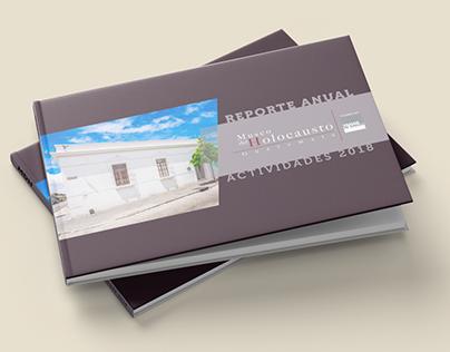Reporte anual de actividades para Museo del Holocausto