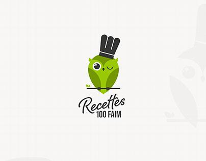 Branding | Recettes 100 Faim