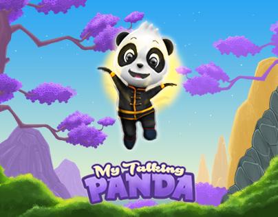 My Talking Panda - Virtual Pet Game