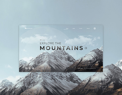 MOUNTAINS   THE FIRST SCREEN   TRAVEL