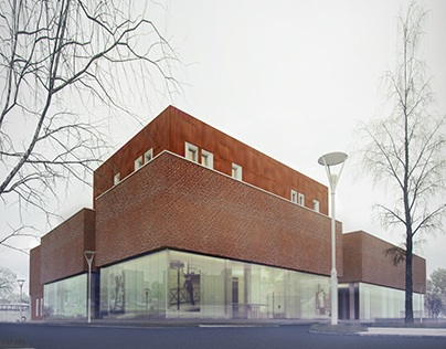Bus Station with Shopping Center - Oborniki, Poland