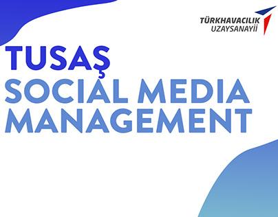 TUSAŞ Social Media Management