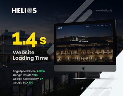 Helios.lt - Optimized Responsive Template Website
