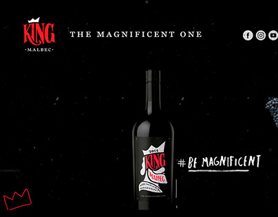 King Malbec Website