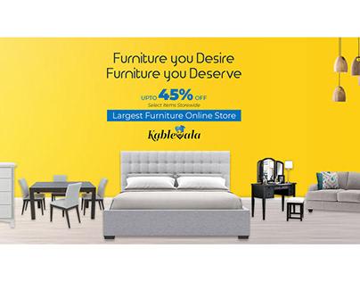 Furniture Promotional Banner