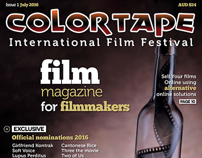 Colortape Film Festival magazine