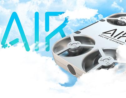 AirSelfie - Branding, UI/UX, App