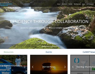 CALWEP | WEB DESIGN