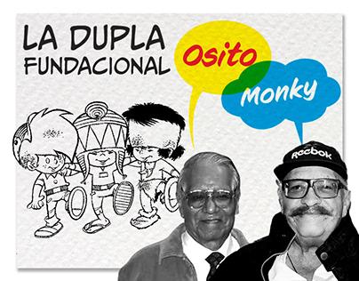 Osito-Monky la dupla fundacional