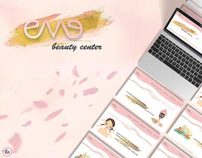 EVE Beauty Center - Web Design