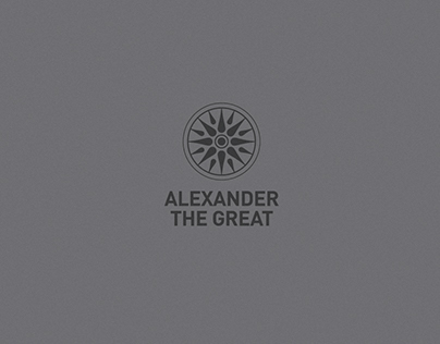 LOGO&PACKAGE: ALEXANDER THE GREAT-OLIVE OIL