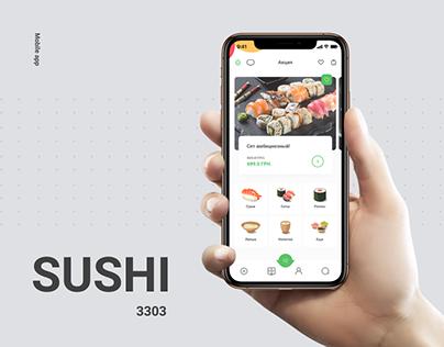 Sushi mobile app (3303)
