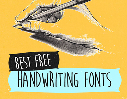 The Best Free Handwriting Fonts for Designers