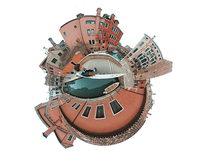 Tiny Planet Poster Series