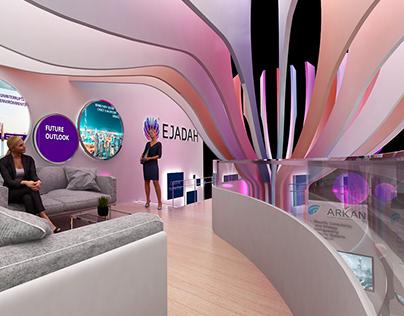 EGADAH STAND FM EXBO ( UAE 2019)