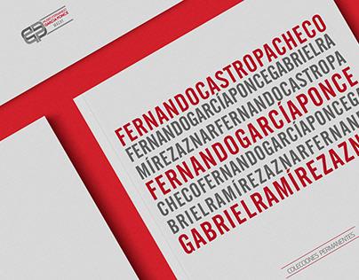 Catálogo Colecciones Permanentes | Editorial Design