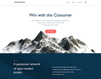 Wordpress onepage design