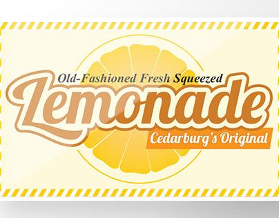 Banner Design: Old-Fashioned Lemonade