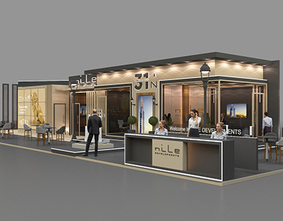 Nile Developments Booth NEXT MOVE EXHIBITION