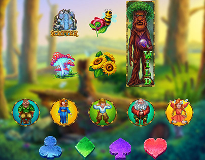 "Online slot machine - ""World of Dwarfs"""