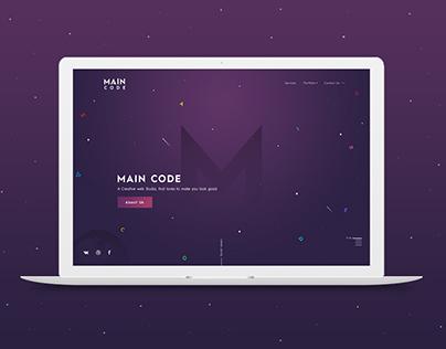 A Creative Web Studio - Main Code