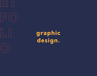 Graphic Design Portfolio 2019