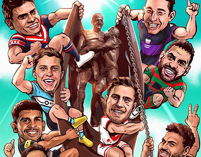 2018 NRL Finals illustration