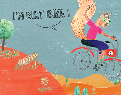 Album Jeunesse - Dirt Bike is the best