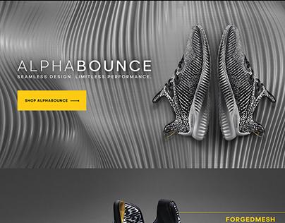 adidas Alphabounce shoe launch
